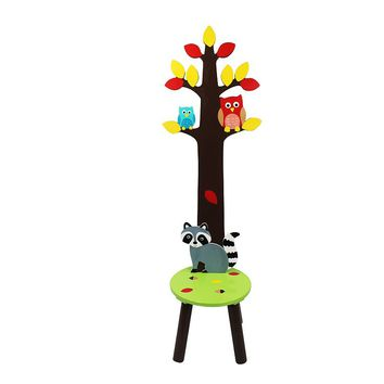 Fantasy Fields Enchanted Woodland Stool & Coat Rack
