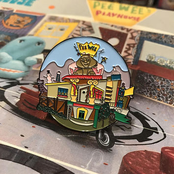Peewee's Playhouse Soft Enamel Pin
