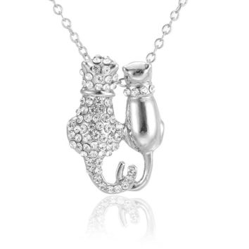 Cat Necklace - Lovers