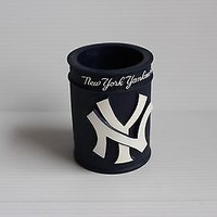 NEW YORK YANKEES BLUE KOOZIE MLB item can cooler drink gift for dad gift for mom
