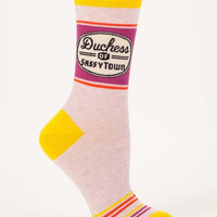 Duchess of Sassytown Women's Socks