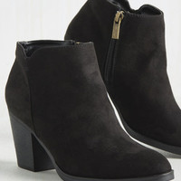 Simply So Sleek Bootie | Mod Retro Vintage Boots | ModCloth.com