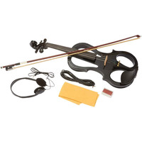 Maxam™ Full Size Electric Violin with Case and Bow