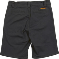 Santa Cruz Chino Shorts 32-Carbon Grey