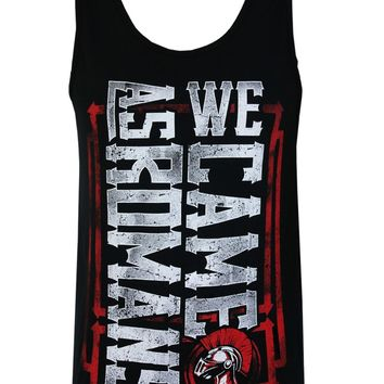 We Came As Romans Men's Black Vest - Buy Online at Grindstore.com