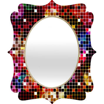Belle13 Crazy Disco Quatrefoil Mirror