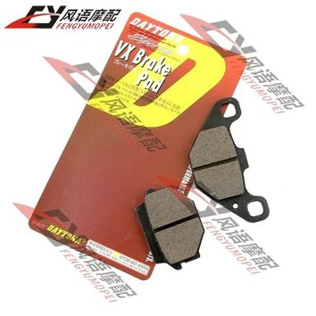 Motorcycle rear after brake pads for Kawasaki KLE250 ZZR250 ZXR250 ZR400 brake pad motorcycle parts