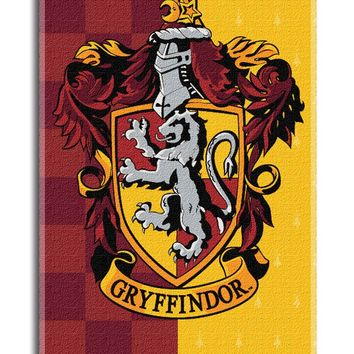 Harry Potter House Crests Beach Towel - Choose From All 4 Houses