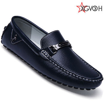 Men shoes fashion Moccasins Loafers Leather Shoes Men's Flats Slip On Driving Shoes Genuine Leather High Quality