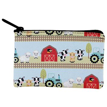 Farm Animals Baby Toddler Daycare Coin Purse