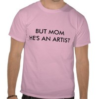 artist tee shirts from Zazzle.com