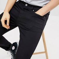 Pier One Skinny Fit Jeans In Black at asos.com