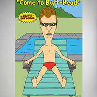 Beavis and Butthead 'Come to Butthead' Poster