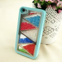 ZLYC Rhinestone Glitter Bling Bling Shake the Diamonds Case for iPhone 5 (multicolor)