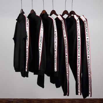 Givenchy Long Sleeve Cardigan Jacket Coat Pants Trousers Set Two-Piece