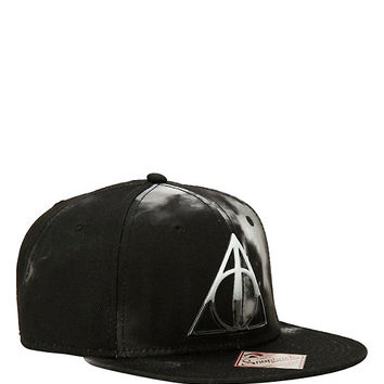 Harry Potter Deathly Hallows Clouds Snapback Hat