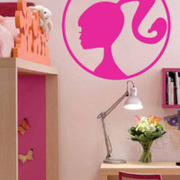 Barbie Girl Kid Room Decor Wall Art Vinyl Decal Sticker Nursery Room Decal