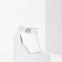 Jeffrey Campbell Sous Leather Wedge