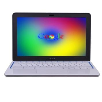 HP Chromebook 11 Exynos 5250 Dual-Core 1.7GHz 2GB 16GB 11.6 LED Chromebook Chrome OS w/Webcam & BT (White) - B