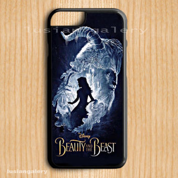 Hot item Beauty and the Beast Disney For all iPhone Print On Hard Plastic Case