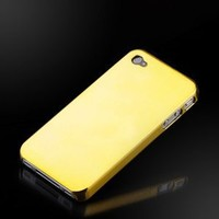 "Liquid Gold ""Reflections"" Metallic finish case cover for Apple iPhone 4"