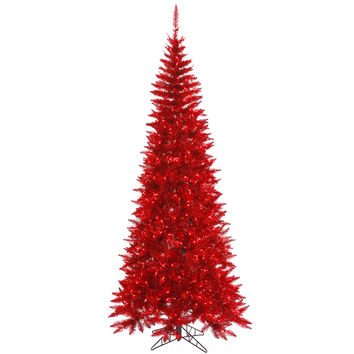 """Tinsel Red Slim 300Red 722T (5.5' x 30"""")"""