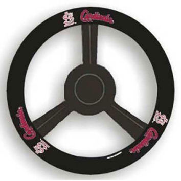St. Louis Cardinals MLB Leather Steering Wheel Cover