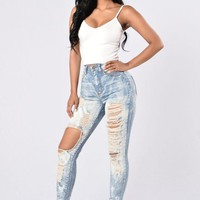 Acid Rain Jeans - Medium Blue [2974244302]