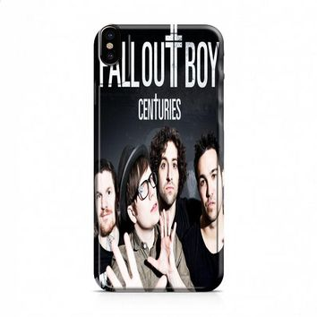 BAND FALL OUT BOY iPhone X case
