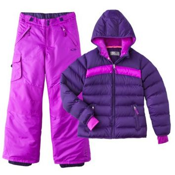 C9 by Champion® Girls' Puffer Jacket and Snow Pant Set