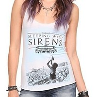 Sleeping With Sirens Live Girls Tank Top Plus Size - 10003901