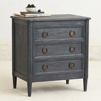 Washed Wood Nightstand by Anthropologie