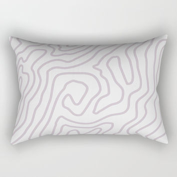 Abstract landscape Rectangular Pillow by printapix
