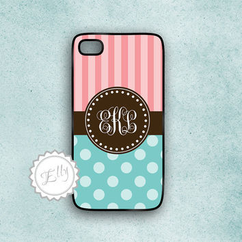 cute candy iphone case polka dots and stripes by ColorsAndFriends