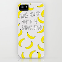 Arrested Development : There's Always Money in the Banana Stand iPhone & iPod Case by Katie Wohl