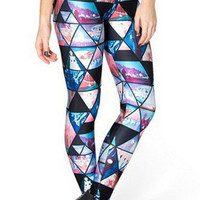 Diamond Patterned Leggings