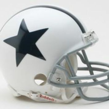 Dallas Cowboys 1960-63 Throwback Replica Mini Helmet w/ Z2B Face Mask