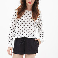 FOREVER 21 Cuffed Woven Shorts Black