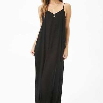 Boho Me Semi-Sheer Maxi Dress