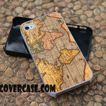 word map case for iPhone 4/4S/5/5S/5C/6/6+ case,samsung S3/S4/S5 case,samsung note 3/4 Case