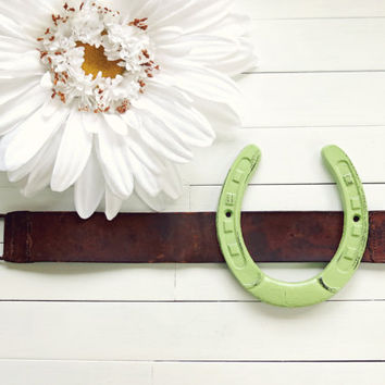 Horseshoe Decor / Lucky Horseshoe / Country Decor / Western Decor / Texas Decor / Horseshoe Wall Art / Metal Wall Art / Barn Decor