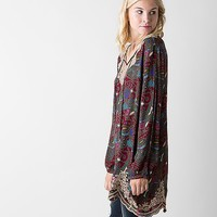 Gimmicks Gauze Tunic Top