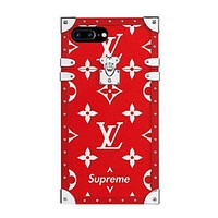 LV supreme tide brand fashion phone shell F