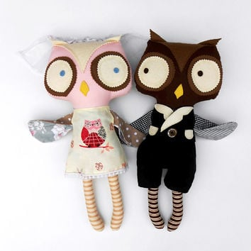 WEDDING GIFT, owl couple, unconventional wedding, wedding decoration, owls, engagement gift, wedding accessories, owl themed wedding