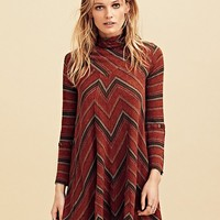 Free People Adobe Stripe Mini Dress