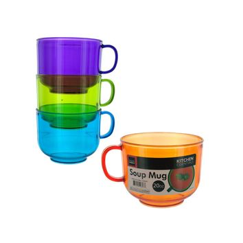 20-Ounce Stackable Soup Mug Case Pack 8