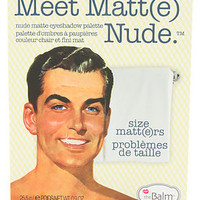 theBalm The Meet Matt(e) Nude Eyeshadow Palette