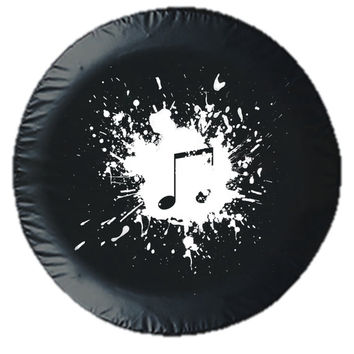 Splash of Music Tire Cover!