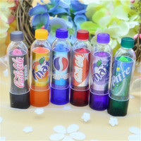 Lipstick Make up 6pcs/set Cola Change Color Cola Sweet Cute Moisturizer Faint Scent Lip Balm for Makeup  XZ32