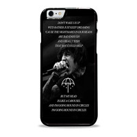 Bring Me The Horizon Happy Song Band Lyric  Iphone 6 plus Case